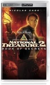 Amazon NATIONAL TREASURE 2 Book Of Secrets UMD PSP Movie Video Games
