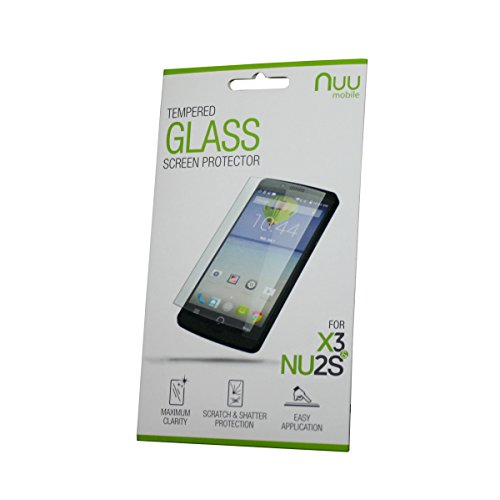 NUU Mobile X3 & NU2S Tempered Glass Screen Protector