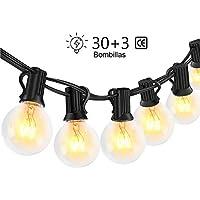 Guirnaldas luminosas de exterior,LECLSTAR G40 Cadena de Luces