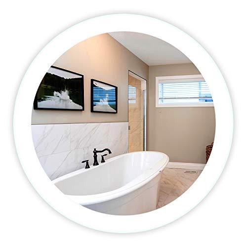 Marble Ambiance - LED Side-Lighted Bathroom Vanity Mirror: 32