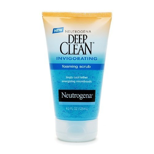 Deep Clean Foaming (Neutrogena Deep Clean Invigorating Foaming Scrub 4.2 fl oz (125 ml))