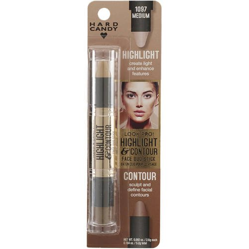 Hard Candy Highlight and Contour Face Duo Stick, 1097 Medium