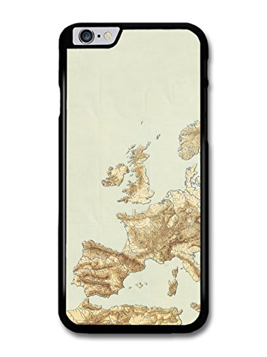 Classic Vintage Retro European Map with a Rustic Style case for iPhone 6 Plus 6S Plus