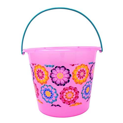 PTI Group Color Changing Jumbo Plastic Bucket Pink -