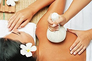 Thai Herbal Massage Balls Compresses - Herbal Massage Compress Ball Body Spa Thai Face Aroma Essential Oil Pain Relax Natural Healing Big Size 200g (7.05 Oz)