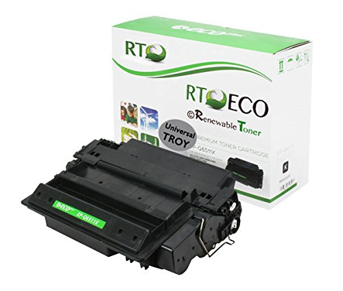 Renewable Toner MICR Compatible Toner Cartridge High Yield Replacement for Troy 02-81134-001 HP 11X Q6511X for Laserjet 2420 ()