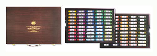 Mungyo Gallery Handmade Soft Pastel Wood Box Set of 100 - Portrait Colors