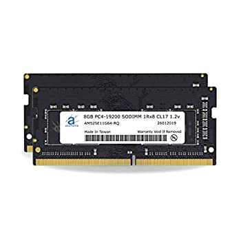 Image of Adamanta 16GB (2x8GB) Laptop Memory Upgrade Compatible for Lenovo Legion, IdeaCentre, IdeaPad, ThinkCentre, ThinkPad & V-Series DDR4 2400Mhz PC4-19200 SODIMM 1Rx8 CL17 1.2v RAM DRAM Memory