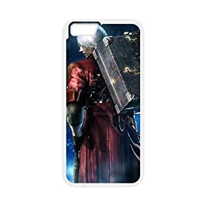 Devil May Cry 4 iPhone 6 Plus 5.5 Inch Cell Phone Case White cover xx001-3088355