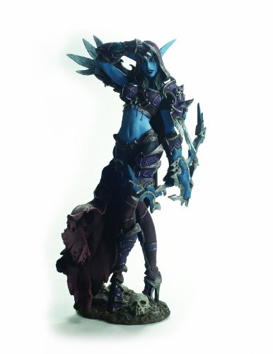 Articulos de DC Unlimited World of Warcraft Serie 6 Forsaken Queen Figura de accion Sylvanas Windrunn