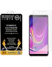 واقي شاشة من الزجاج المقوى لهاتف Samsung Galaxy A9 2018 (6.3 بوصة) - مقاوم للخدش، مقبض غير قابل للانزلاق، واقي شاشة سريع وسهل التركيب