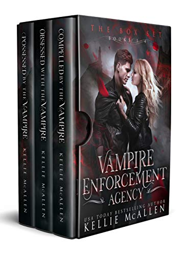 Vampire Enforcement Agency Series: a paranormal romance by [McAllen, Kellie]