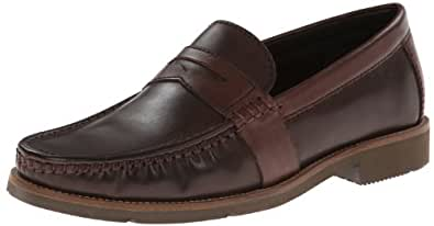 Rockport Men's Camran Penny Loafer,Brown/Tan,9 M US