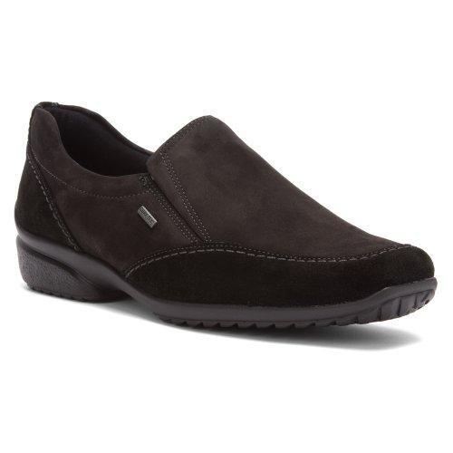 ara Women's Pinny 40957,Black Suede,US 9.5 M (Loafers Suede Ara)