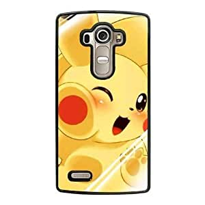 Grouden R Create and Design Phone Case,Pikachu Cell Phone Case for LG G4 Black + 1*Touch Stylus Pen (Free) GHL-2874428