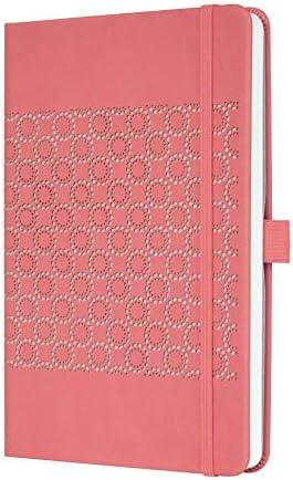 SIGEL J0203 Wochenkalender Jolie 2020, ca. A5, rosefarben, samtig-weiche Oberfläche - weitere Modelle