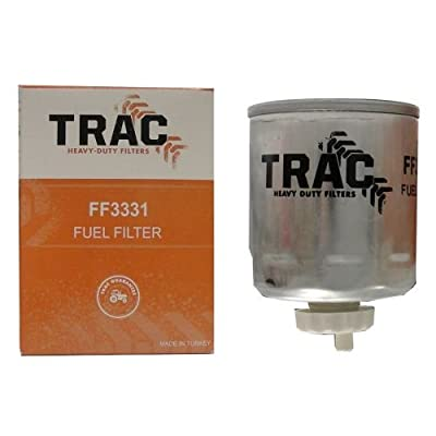 Complete Tractor FF3331 Fuel Filter (For Bobcat Case International Harvester Ford New Holland), 1 Pack: Automotive