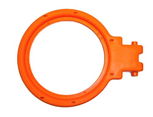 Fisher Price Grow To Pro Basketball ESPN Replacement Rim / Hoop (Orange) (Fisher Price Basketball Hoops)