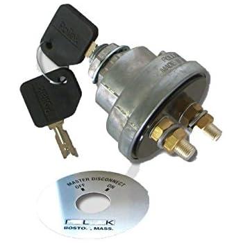 Amazon.com: Pollak 51-916 Master Disconnect Switch Key