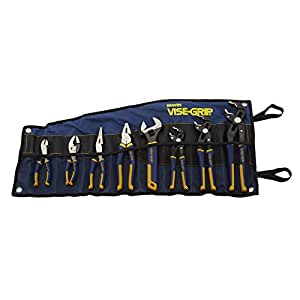 IRWIN Tools VISE-GRIP GrooveLock Pliers Set, 8-Piece (2078712)