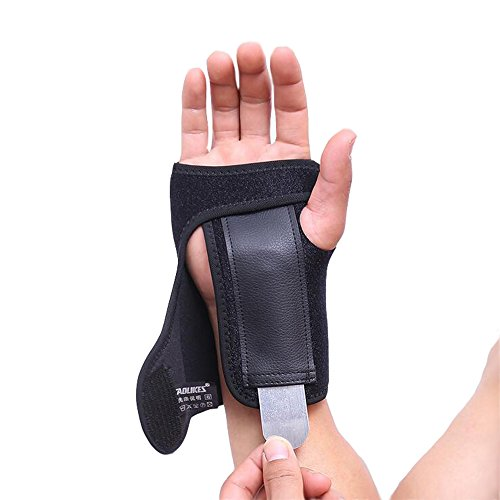 Wrist Brace,SiLiTech Wrist Support Brace with Removable Splint and Adjustable Wrist Support Wrap (Right) by SiLiTech