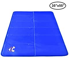 Cooling convenience for man's best friend!       This solid-gel cooling mat from Arf Pets is a long-lasting solution for keeping all your pets healthy and comfortable even in the hottest, most humid conditions. The safe and sturdy nylo...