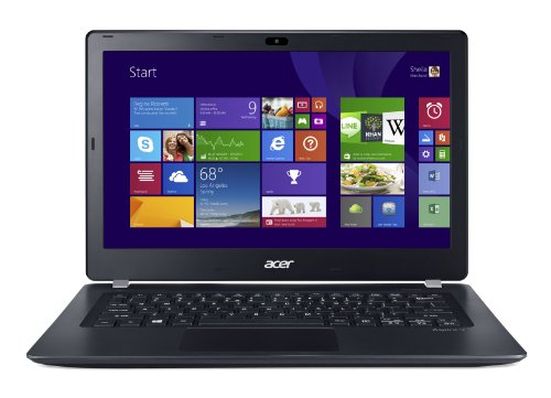 Price comparison product image Acer Aspire V3-371-596F 13.3-Inch Laptop (Steel Gray)