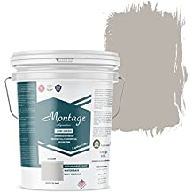 Montage Signature Interior/Exterior Eco-Friendly Paint, Dove Gray - Low Sheen, 5 Gallon