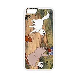 iPhone 6 4.7 Inch Cell Phone Case Covers White The Aristocats Character Abigail Gabble Phone cover O7531040