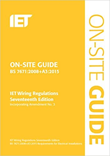 On Site Guide Bs 76712008a32015 Incorporating Amendment No 3
