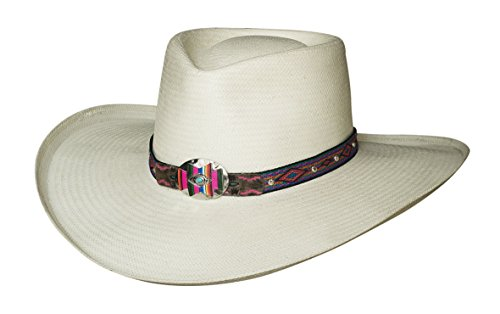 - Bullhide All The Best Shantung Panama Hat (X-Large)