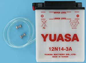 Amazon Com 12n14 3a Yuasa Battery Powersports Accessories Garden Outdoor