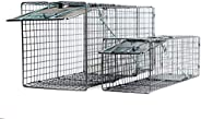 Animal Trap (Several Small, Medium, Large) - Best Humane Animal Trap for Many Types of Nuisance Animals. Easy