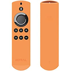 Koral Case for Alexa Voice Remote for Fire TV and Fire TV Stick - Orange