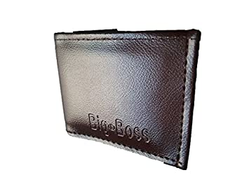 3b8f7086b9f Image Unavailable. Image not available for. Colour  Big Boss Men s Executive  Faux Leather Wallet ...