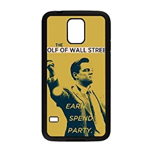 samsung galaxy s5 phone case Black for wolf of wall street poster - EERT3395858