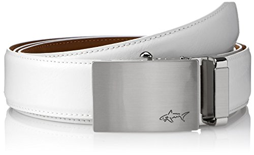 Greg Norman Mens Optimum Comfort Fit Adjustable Ratchet Belt