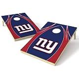 Wild Sports NFL New York Giants 2′ x 3′ V Logo Cornhole Game Set