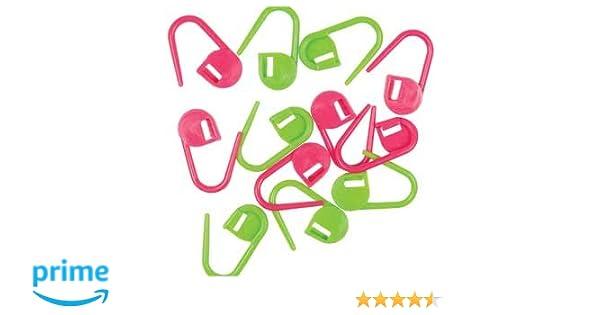 HiyaHiya Knitter/'s Safety Pins Style Locking stitch Markers