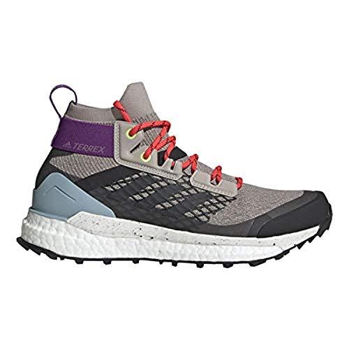 Adidas W's Terrex Free Hiker Shoes Light Brown/Simple Brown/Ash Grey 11 & Towel