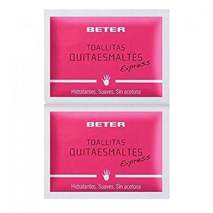 Beter - Toallitas Quitaesmaltes - 10 unidades