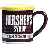 Hershey's Syrup Can Mug with Lid, 14oz