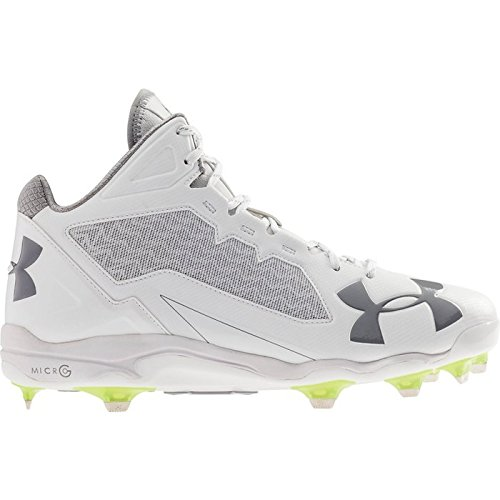 Cleat White Armour Under Mid Baseball Black Deception DT Men's SvFxq1