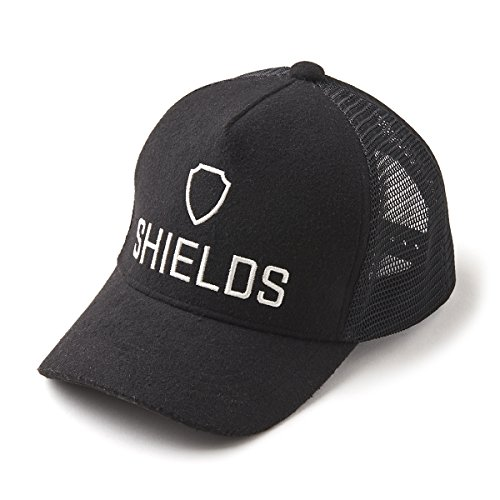 SHIELDS(シールズ) キャップ Sports Wear ウール メッシュ Y-CAP-01-01 ブラック Freeサイズ