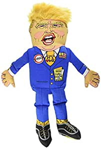 Fuzzu Donald Trump Presidential Parody Dog Toy