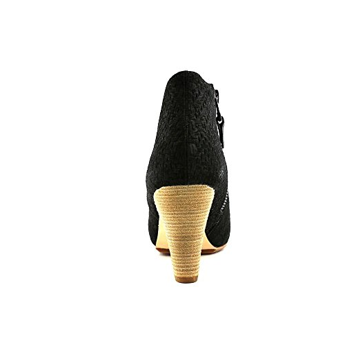 Matt Bernson Peep Toe Jag Boot Sz 6 Black dBaUdz5