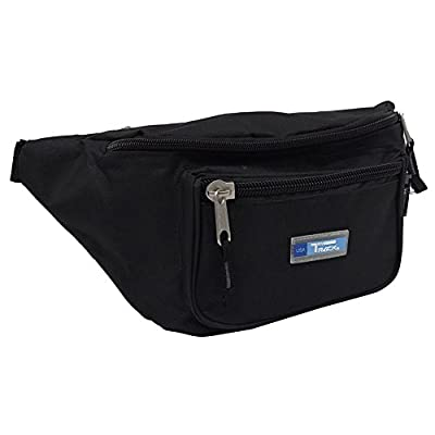 Bum Bag Adjustable Belt Bags Running Cycling Fishing Sport Waist Bags Black Unisex Pockets Papa Bear Mom Dad Fanny Pack Waist