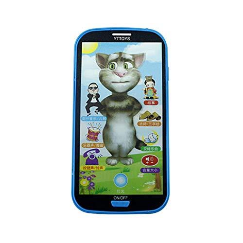 子供用 シミュレーター 音楽玩具 携帯電話 タッチスクリーン教育学習玩具の商品画像