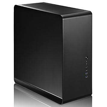 Cooltek UMX4 Midi-Tower Negro Carcasa de Ordenador - Caja de ...