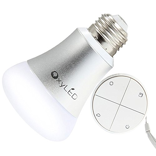 OxyLED EH301 Dimmable Led Light Bulb With Remote Control, 3 Way Dimming Color Changing Led Lamp Replacement Soft - Control Way 3